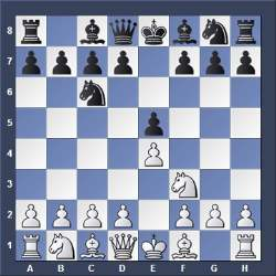 Opening Chess Moves Game